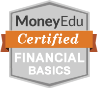 The Financial Basics for high School badge.